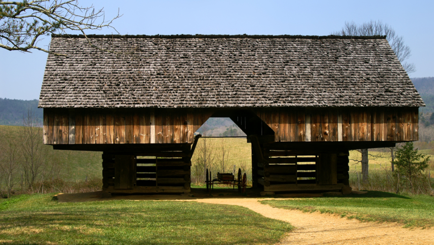 The Cool History About the Cantilever Barn in Cades Cove