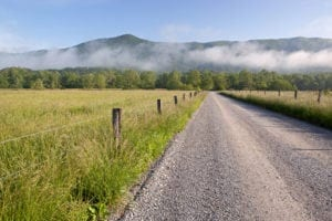 Cades Cove on a summer day