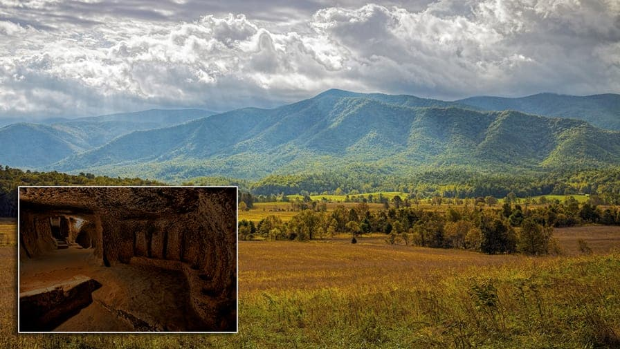 Centuries-Old Underground City Discovered Beneath Cades Cove