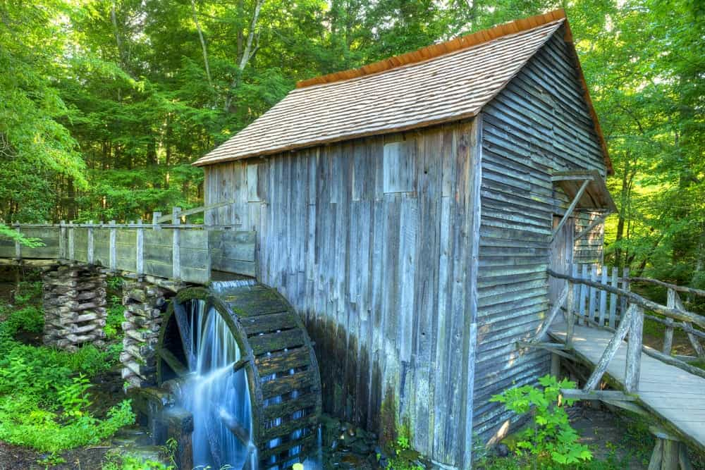 The John P. Cable Mill in Cades Cove