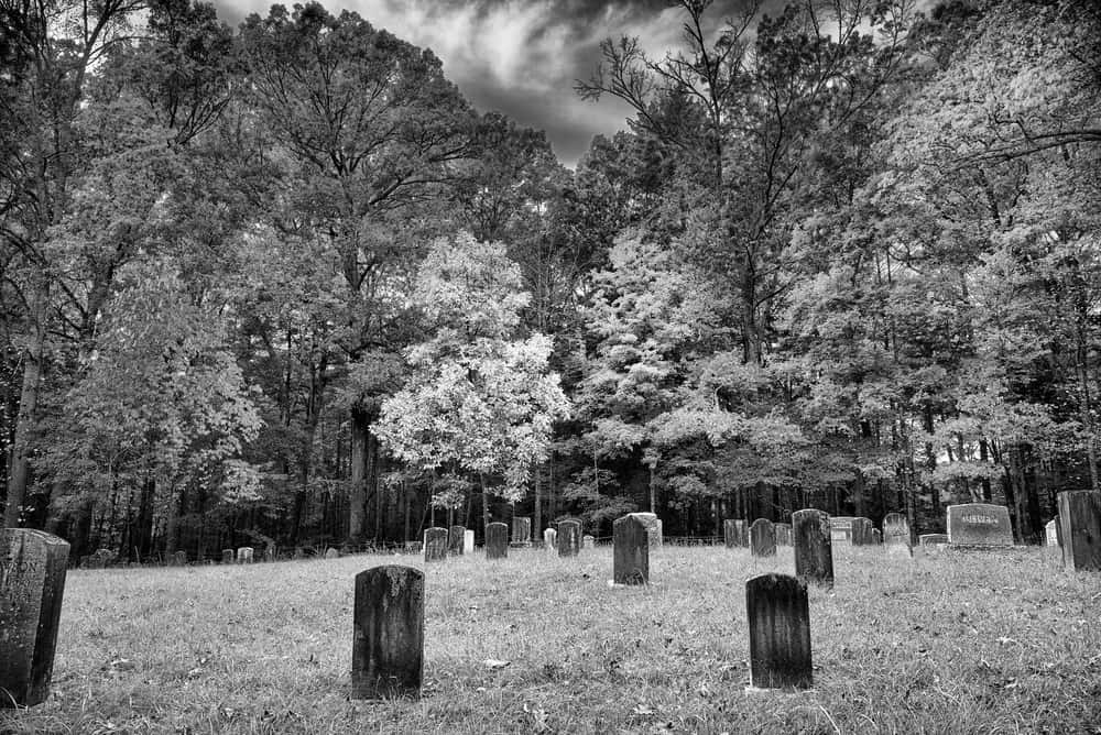 one of the cades cove cemeteries